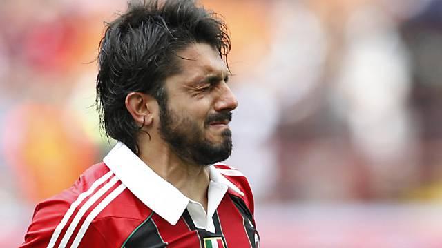 Gennaro Gattuso hat Sorgen, neuderdings auch neben dem Platz.