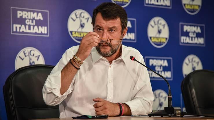 Rückschlag für den Lega-Chef: Statt sechs Regionen gewann Ex-Innenminister Matteo Salvini nun in drei - und auch dort nicht überzeugend.