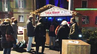 Das LaLa Holzhaus ist ein Kiosk der besonderen Art.