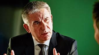 Kulturminister Alex Hürzeler erklärt seine Haltung: «Mein Ziel muss nicht sein, dass wir bei den Kulturausgaben zuvorderst sind.»