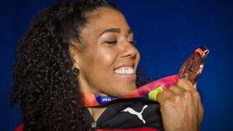 Mujinga Kambundji und ihre Bronzemedaille - Liebe auf den ersten Blick.