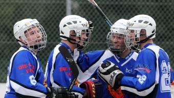 Freude bei Gerlafingen: Die Inlinehockeyaner stehen im Cup-Halbfinale