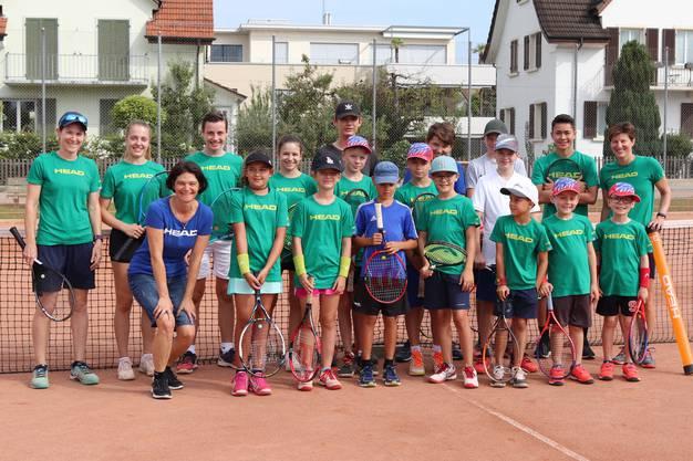 Die Teilnehmer der Tenniswoche 2019