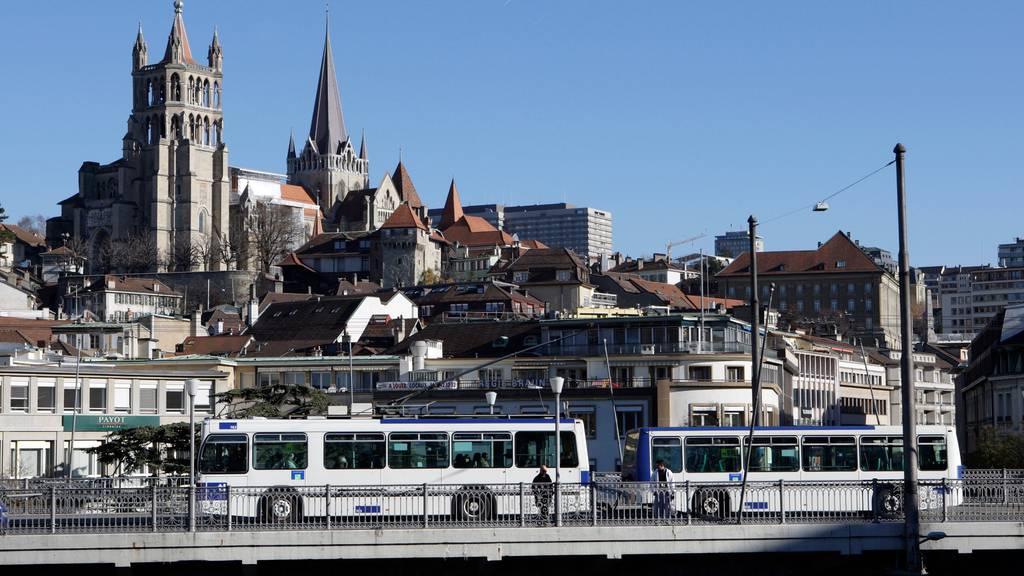 Coronakrise kostet die Stadt Lausanne 31 Millionen Franken