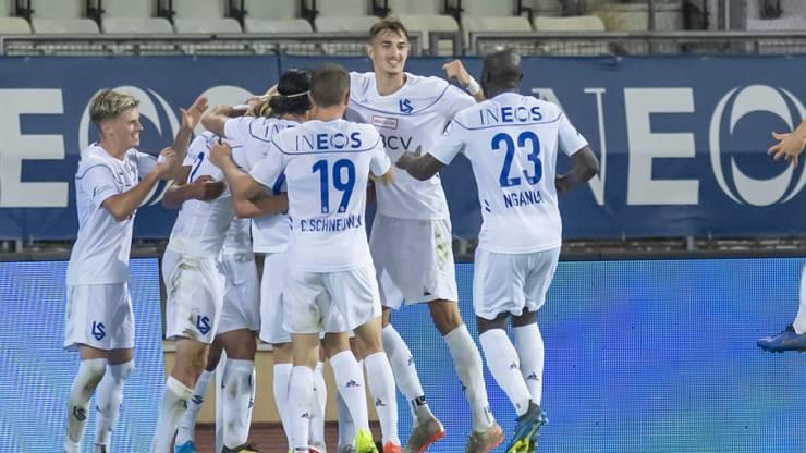 Lausanne-Sport grüsst derzeit von der Tabellenspitze in der Challenge League.