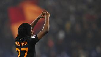 Doppeltorschütze für die AS Roma: Gervinho