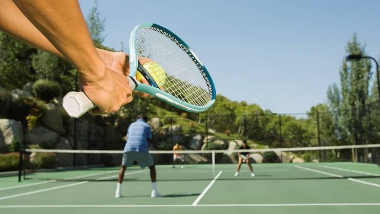Tenniscracks kämpfen in Olten am Wochenende um 17 Titel. (Symbolbild)