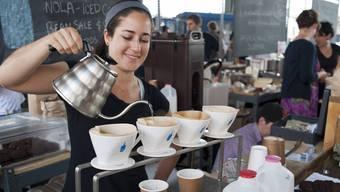Blue Bottle Cafés gibt es inzwischen an beinahe 100 Standorten. Weitere werden folgen.