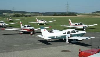 Der Pachtvertrag für den Flugplatz Schupfart muss neu ausgehandelt werden.