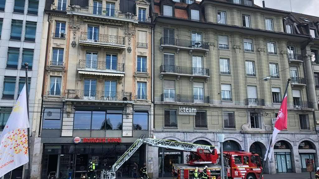 Ursache des Brandes in Lausanne war ein Ventilator.