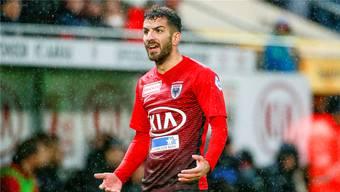FC-Aarau-Stürmer Varol Tasar spielt ab Sommer für Servette Genf: Vom Wechsel wollte auch der FC Klingnau profitieren.freshfocus