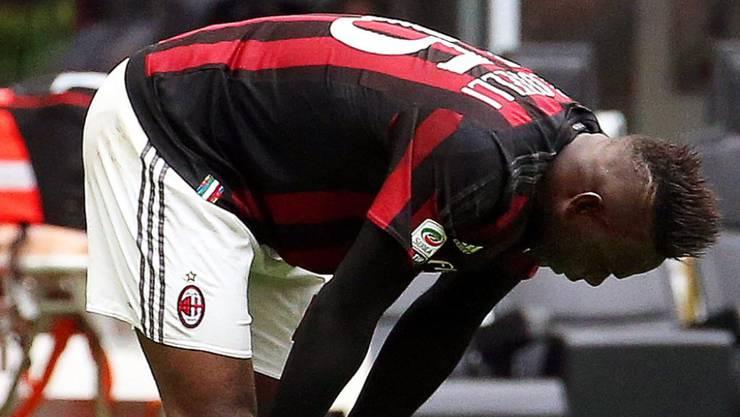 3:3 gegen Frosinone: eine weitere Enttäuschung für Mario Balotelli und Milan