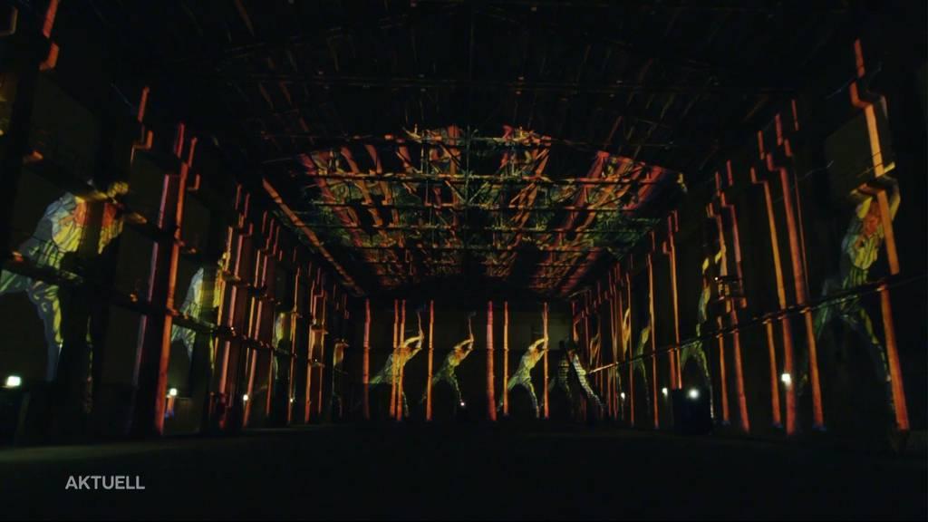 Spektakuläre Lichtshow für grosse Künstler wie Paul Klee