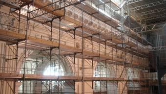 Baustelle in der St. Ursen Kathedrale (Archiv)
