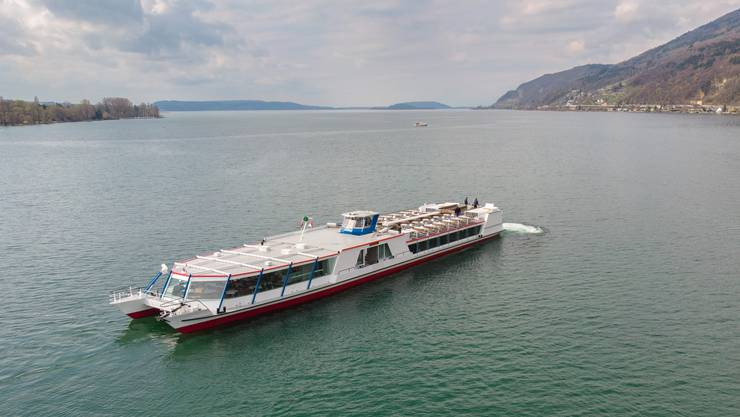 Auf dem Bielersee werden in der Wintersaison weniger Schiffe unterwegs sein. (Archiv)