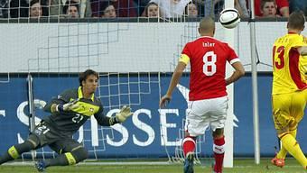 Yann Sommer kam zu seinem Debüt in der A-Nationalmannschaft