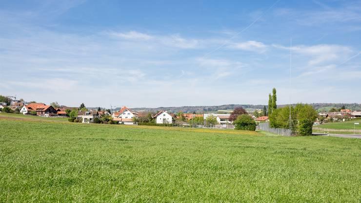 25 Meter hoch ist das Antennen-Gerüst, das vom Hertenstein her eingangs Freienwil neben der Hauptstrasse steht. Sandra Ardizzone