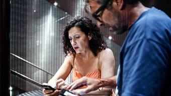"""""""Die Musik stirbt zuletzt"""" (Regie: Dani Levy) mit dem Ermittlerduo Ritschard (Delia Mayer) und Flückiger (Stefan Gubser) wagte eine neue Erzählform."""