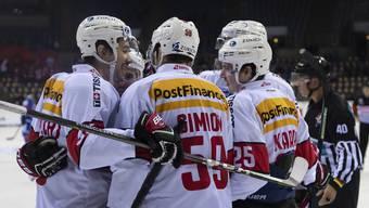 Eishockey – Deutschland Cup: Schweiz - Slowakei 3:2