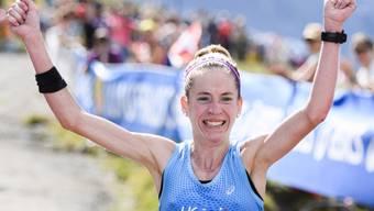 Martina Strähl stellte beim Jungfrau-Marathon einen Streckenrekord auf