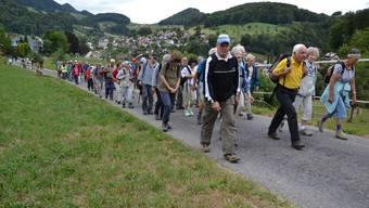Leserwandern 17. Etappe von Reigoldswil nach Oberdorf