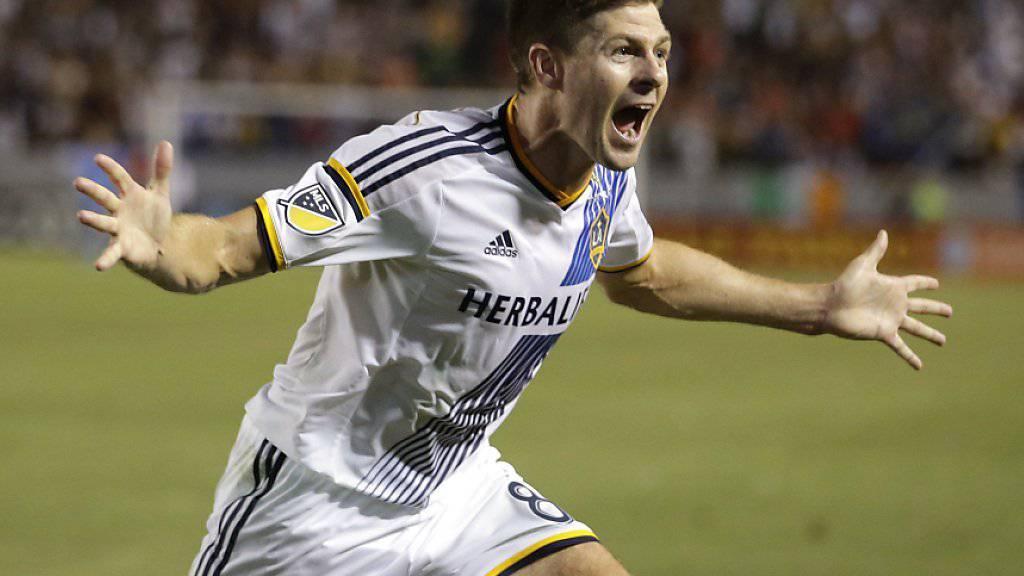 Verlässt die Los Angeles Galaxy nach anderthalb Jahren in unbekannte Richtung: Steven Gerrard
