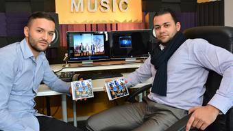 Marco Patané und Koray Sanchez präsentieren ihr erstes Album «Change». Rapper Daniel Birri ist der Dritte im Bunde.