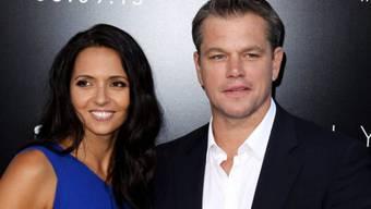 Sie ist die Chefin: Matt Damon und Luciana Barroso (Archiv)