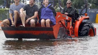 """In Teilen von New Orleans mussten Anwohner wegen des Tropensturms """"Lee"""" in Sicherheit gebracht werden"""