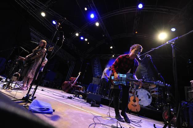 Die Band aus den USA spielt leise Hymnen, durchtränkt von Folk und Blues.