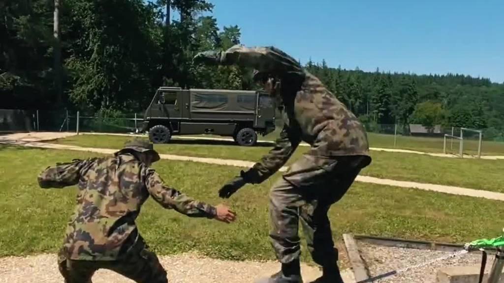 Ragettli mit neuem Parcours-Video: Er tut's auch im Militär