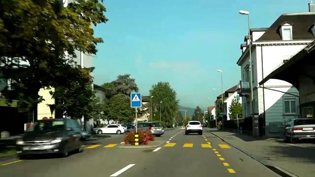 Von Zürich-Altstetten nach Baden – eine Fahrt auf der Strecke der geplanten Limmattalbahn, inklusive Haltestellen