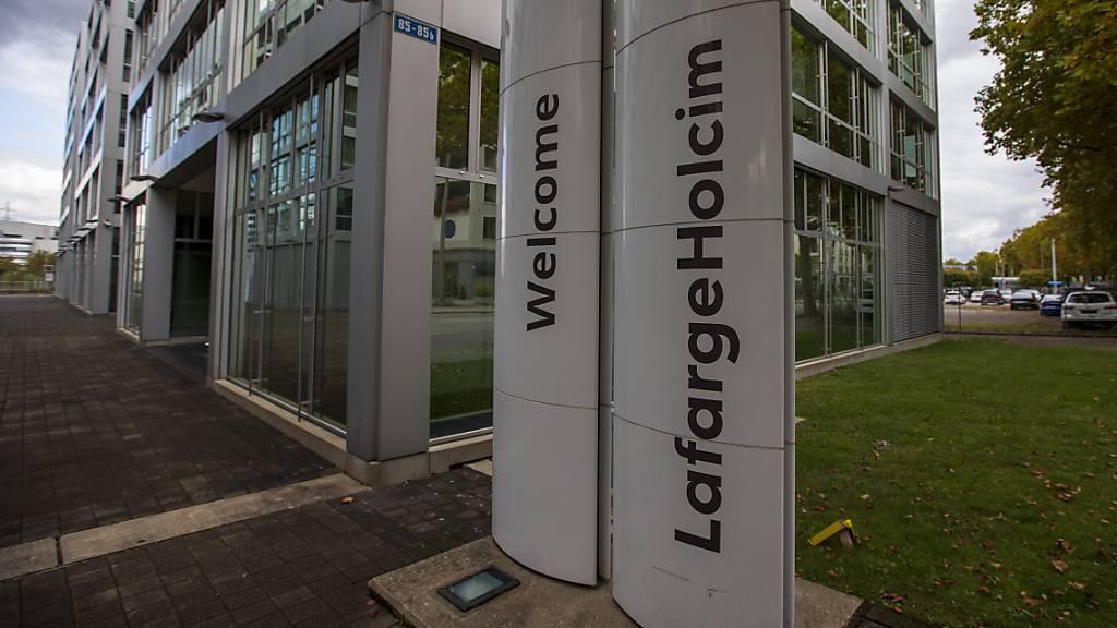 Zementhersteller LafargeHolcim soll wieder «Holcim» heissen
