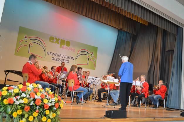 Die Musikgesellschaft Remigen spielte an der Expo Geissberg