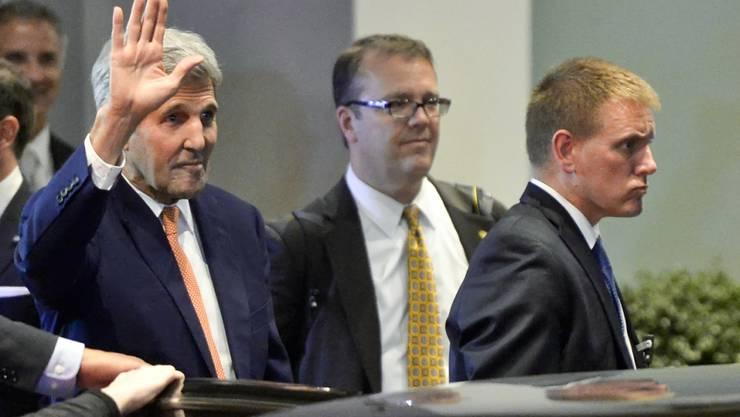 US-Aussenminister Kerry hofft auf weitere Syrien-Gespräche in der kommenden Woche.