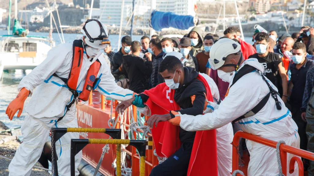 Höchste Tageszahl an Bootsflüchtlingen auf Kanaren seit 2006