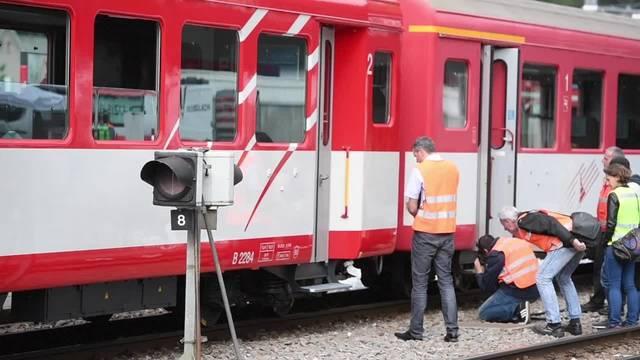 30 Personen bei Zugunfall in Andermatt verletzt