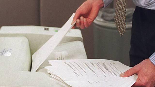 Vernichtung von wichtigen Dokumenten
