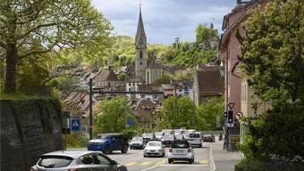 Die Stadt und die Region Baden müssen sich auf mehr Verkehr vorbereiten. Bild: Alex Spichale (24.4.2019)