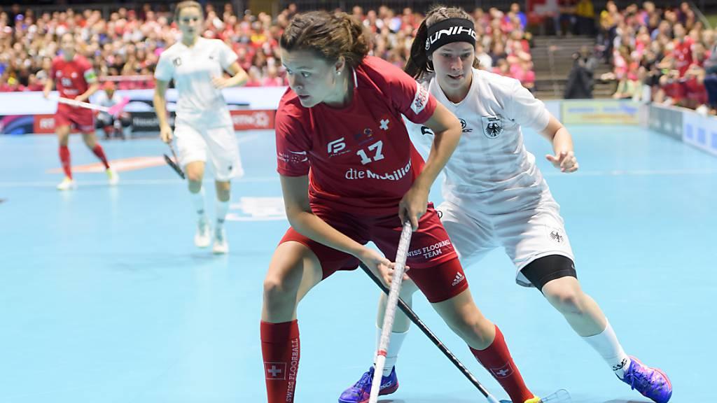 Die Schweizer Unihockey-Frauen bezwingen auch Lettland