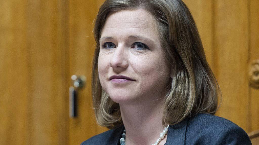 Wurde nach eigenen Angaben in der Kasachstan-Affäre erpresst: Berner FDP-Nationalrätin Christa Markwalder. (Archivbild)