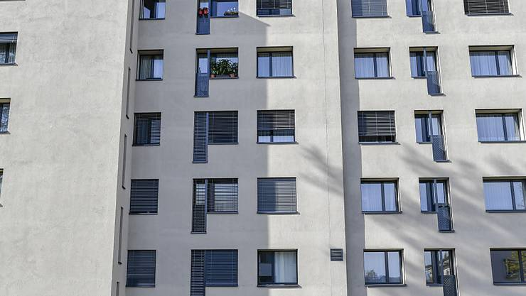2018 ist die Zahl baubewilligter Mietwohnungen in der Schweiz um 7 Prozent gesunken. (Symbolbild)