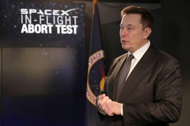 Heizt den Wettkampf mit Amazon-Chef Jeff Bezos an: Multimilliardär Elon Musk.