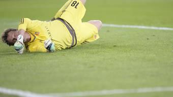 Germano Vailati sieht beim Gegentreffer zum 0:1 schlecht aus.