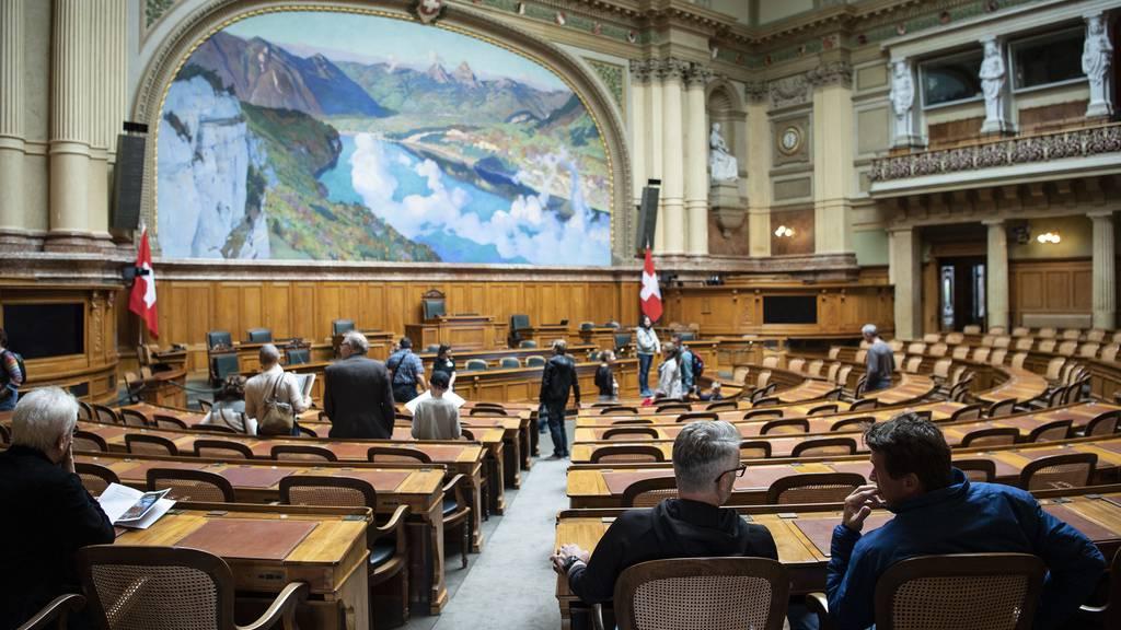 Die Sitze im Bundeshaus sind seit den Wahlen im Oktober neu verteilt.