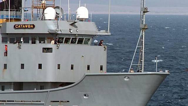 Militärschiff im Golf von Aden (Archiv)