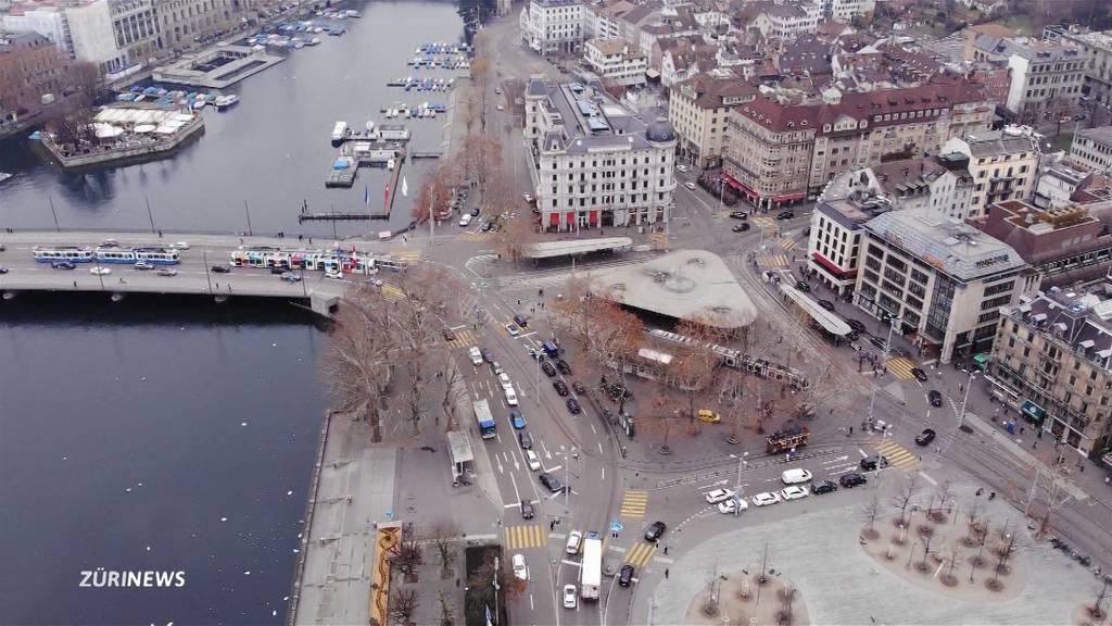 Weniger Stau und neue Fussgängerzone: Das soll ein Spurabbau am Bellevue bringen