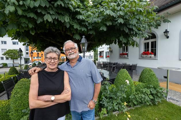 Katharina und Herbert Balz, Restaurant Kreuz, Obergösgen.