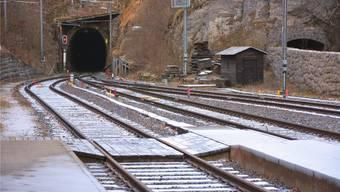 Der Weissensteintunnel, hier vom Bahnhof Gänsbrunnen aus, wird ab 2020 saniert.