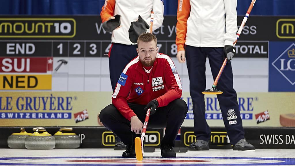 Zwei weitere Siege der Schweizer Curler an der EM